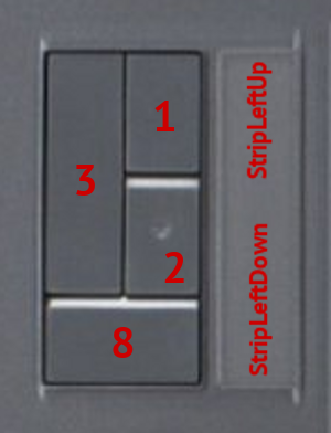 ExpressKeys Intuos3 4x6 : Buttons